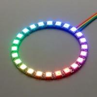 NeoPixel Ring mit 24 WS2812 5050 RGB LEDs