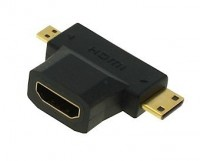Mini / Micro HDMI T-Stück Adapter