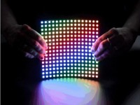 Biegsame 16x16 NeoPixel RGB LED Matrix