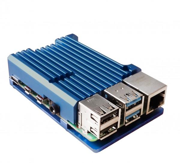 Armor Gehäuse für Raspberry Pi 4, blau