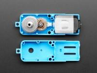 Adafruit TT Motor Bi-Metall Getriebemotor - 1:90 Übersetzung